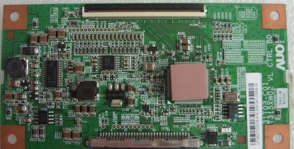 T315XW02 VL CTRL BD 31T03-C01